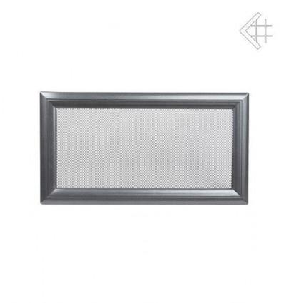 Вентиляционная решетка для камина Kratki 17х30 Оскар графитовая 30OG