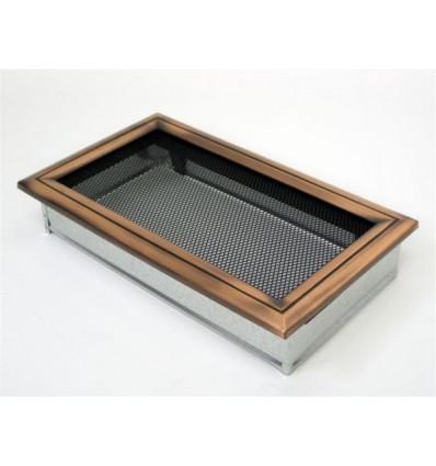 Вентиляционная решетка для камина Kratki 17х30 Оскар медь 30OM