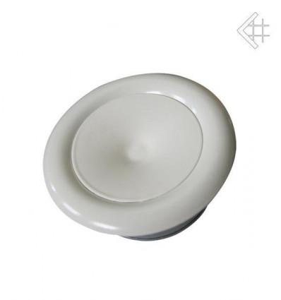 Вентиляционная решетка для камина Kratki Анемостат белый д.125 ANEMOSTAT/125