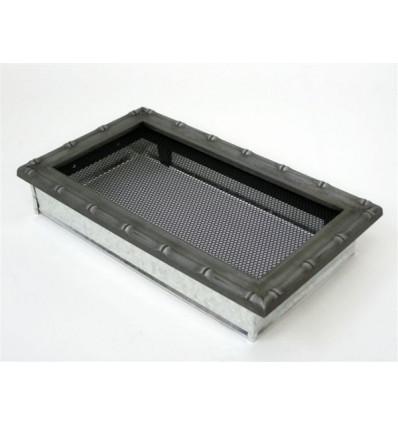 Вентиляционная решетка для камина Kratki 17х30 Диана хром 30DS