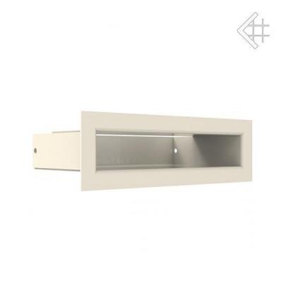 Вентиляционная решетка для камина Kratki Люфт бежевая 6х20 LUFT/6/20/45S/K