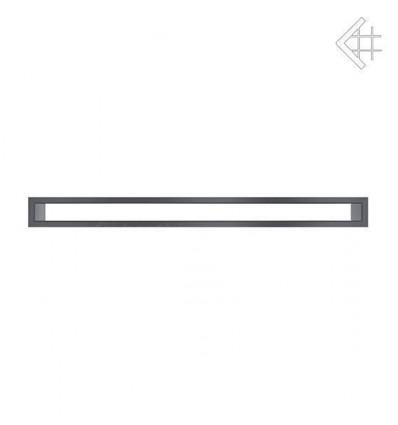Вентиляционная решетка для камина Kratki 6х80 тунель графит TUNEL6/80/G