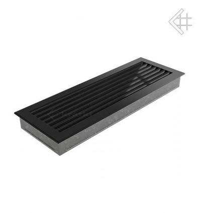 Вентиляционная решетка для камина Kratki 17x49 FRESH черная 49C/FRESH