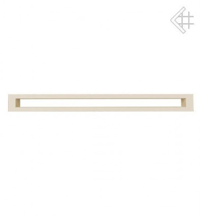 Вентиляционная решетка для камина Kratki 6х100 тунель бежевая TUNEL6/100/K