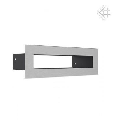 Вентиляционная решетка для камина Kratki Тунель стальная 6х20 TUNEL/6/20/SZ