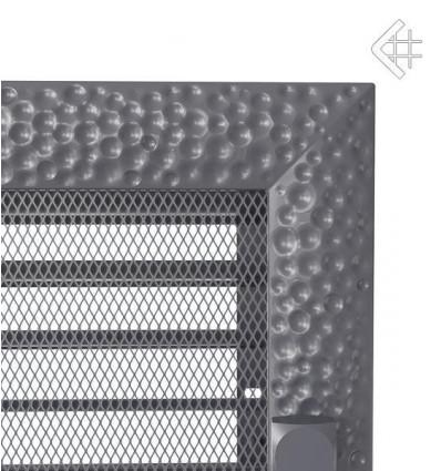 Вентиляционная решетка для камина Kratki 17x30 Venus графитовая с жалюзи 30VGX