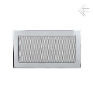 Вентиляционная решетка для камина Kratki 17х30 никелированная 30N