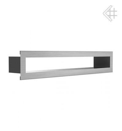 Вентиляционная решетка для камина Kratki Тунель стальная 6x40 TUNEL/6/40/SZ