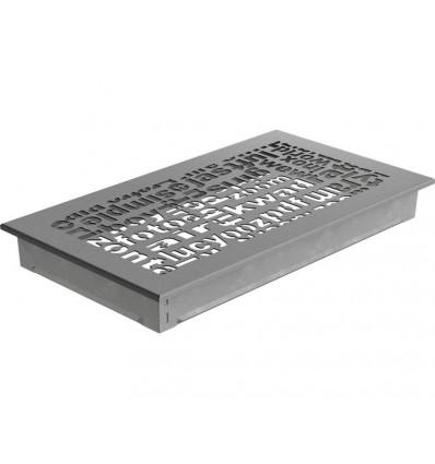 Вентиляционная решетка для камина Kratki 17х30 ABC гранит 30ABC/GR