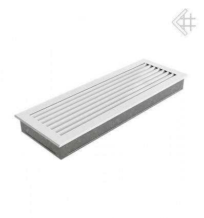 Вентиляционная решетка для камина Kratki 17х70 FRESH белая 70B/FRESH