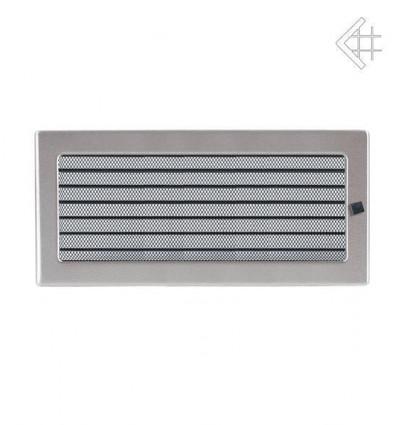 Вентиляционная решетка для камина Kratki 17х37 Стальная с жалюзи 37SZX