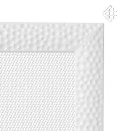 Вентиляционная решетка для камина Kratki 17x49 Venus белая 49VB
