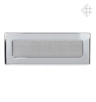 Вентиляционная решетка для камина Kratki 11х42 никелированная 42N