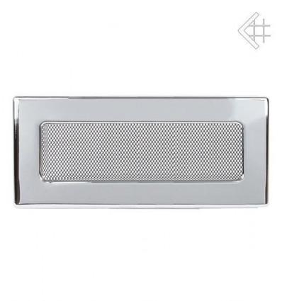 Вентиляционная решетка для камина Kratki 11х32 никелированная 32N