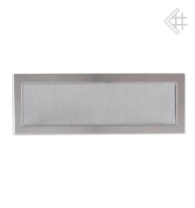 Вентиляционная решетка для камина Kratki 17х49 Стальная 49SZ