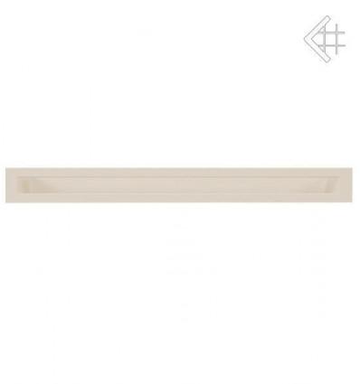 Вентиляционная решетка для камина Kratki Люфт бежевая 6x100 LUFT/6/100/45S/K