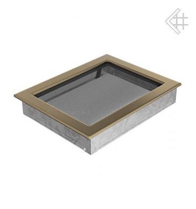 Вентиляционная решетка для камина Kratki 22х30 гальваника под золото 22/30ZG