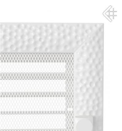 Вентиляционная решетка для камина Kratki 22x30 Venus белая с жалюзи 22/30VBX