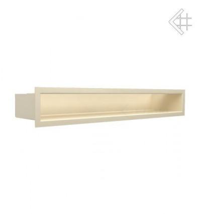 Вентиляционная решетка для камина Kratki Люфт бежевая 9x60 LUFT9/60/45S/K