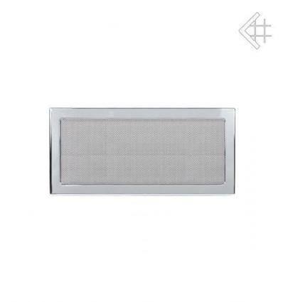 Вентиляционная решетка для камина Kratki 22х45 никелированная 22/45N