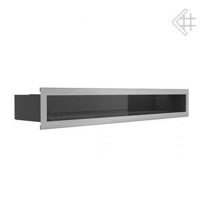 Вентиляционная решетка для камина Kratki Люфт стальная 9x60 LUFT/9/60/45S/SZ